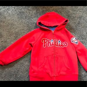 Majestic Phillies hoodie size 4t ⚾️